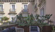 Proserpina | Terrazza-poltrone | Hotel-B&B | Piazza Mazzini-Centro-Catania
